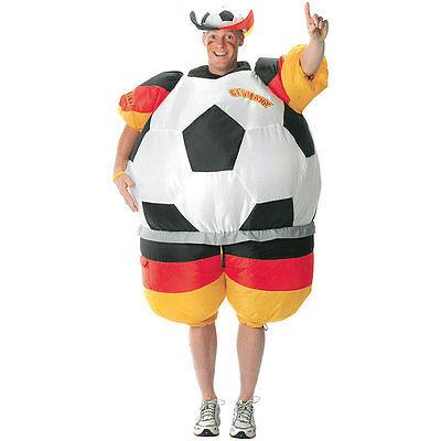 Fan Kleidung: Selbstaufblasendes Fan-Kostüm - Sport Fan Kostüm