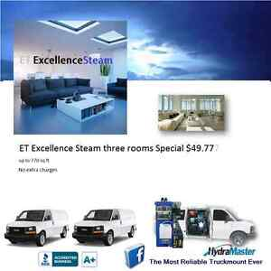 ET Excellence Steam three rooms Special $49.77. London Ontario image 6