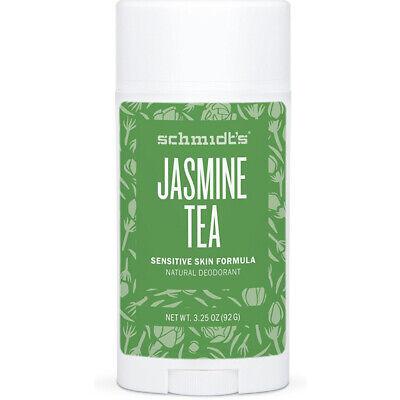 SCHMIDT'S - Natural Desodorante en Barra para Piel Sensible Jazmín Té -...
