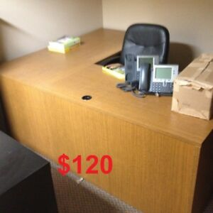 $120 for this L shaped desk