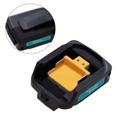 2 USB Ladeadapter Für 14,4/18 V Batterien Makita Drehwerkzeug Akkuladegerät DE