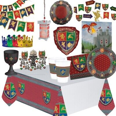 Medieval Thrones Castle Dragons Party Supplies Tableware, Decorations & Balloons - Medieval Castle Decorations