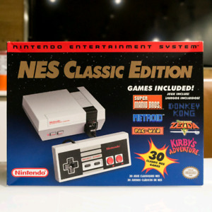 Nintendo Classic Edition + extra controller + 2 cord extentions