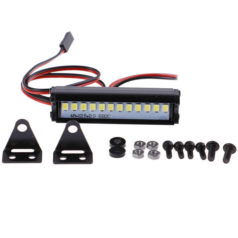 Car Parts - 55mm RC LED Light Bar LEDs Lamp 1:10 RC Car Part for 90046 90048 SCX10 modTR