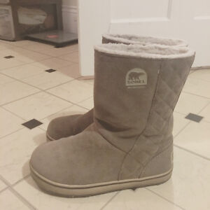 Sorel 1 year old winter boots size 6.5