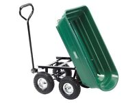 DRAPER 58553 GTC GARDEN TIPPER CART TROLLEY QUAD RIDE ON LAWNMOWER