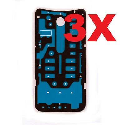 3X Motorola Moto X Innocent XT1575 Back Cover Battery Door Tape Adhesive Sticker USA