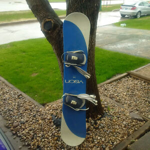 Snowboard with Bindings (VISION 155)