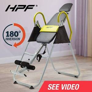 Gravity Inversion Table Chronic Back Pain Folding Upside Down Perth Perth City Area Preview