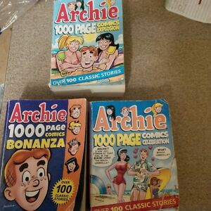 Archie Comics (3) - 1000 pages each
