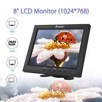 8, Pollici Tft Lcd Colore Hd Monitor Ips Schermo Video Fr Pc Cctv Dvr -  - ebay.it