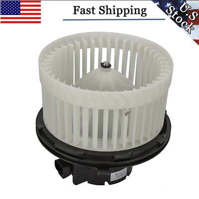 Heater Blower Motor w/ Fan Cage For Chevy Silverado GMC Sierra 1500 2500 3500 HD