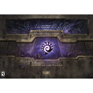 StarCraft II Collectors Edition - Heart Of The Swarm Sealed