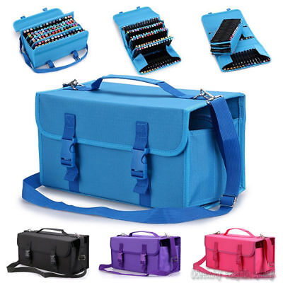 Copic Marker Storage Case - 120 Slots Marker Pen Storage Case Carrying Bag Holder Organized For Touch Copic