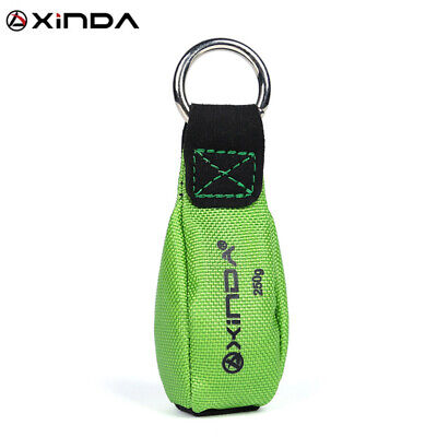 Tree Rigging 250g300g Climbing Equipment Arborist Throw Weight Bag Green Pouch