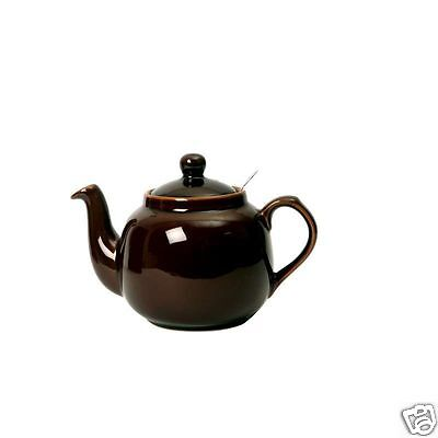 London Pottery Farmhouse Filter China Teapot ~ 2 4 6 cup ~ R