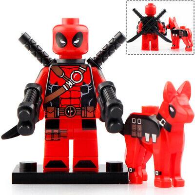 Deadpool & Dog - Marvel Lego Moc Realistic Minifigure Gift For Kids
