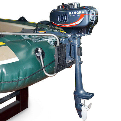 Außenbordmotor Benzinmotor Außenborder Bootsmotor 3.5HP Motor Boot NEU AUS DE