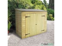 Timber Garden Shed, self assembly