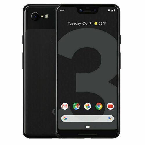New Google Pixel 3 XL 64GB Factory Unlocked Just Black T-Mobile AT&T Verizon