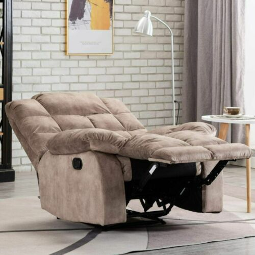 Oversize Living Chair Sofa Manual Overstuffed Back Seating R