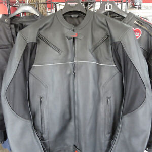 Safari Leather Motorcycle Jacket Brand New With Tags - Re-Gear