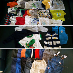 6-12 months all seasons boy clothes