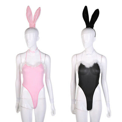 Costume Cosplay Sexy Fancy Bunny Rabbit Lingerie Full Set Dress Uniform Party](A Bunny Costume)
