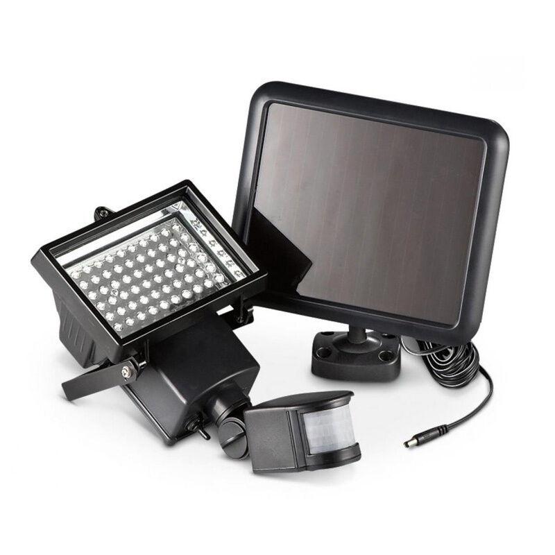 60x led solarlampe au en leuchte solarstrahler bewegungsmelder sensorlicht neu eur 17 98. Black Bedroom Furniture Sets. Home Design Ideas
