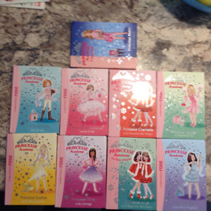 Livres collection Princesse Academy