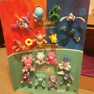 Pokemon and Build a Bear toy collection best offer  Strathcona County Edmonton Area image 1