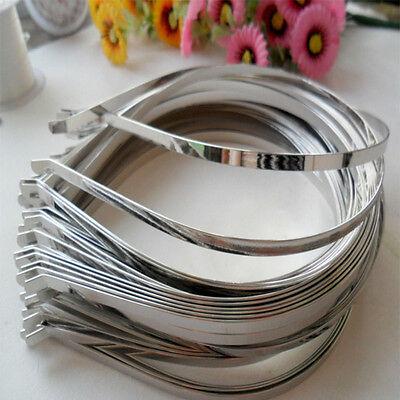 2PC 5 / 7mm Metall Tiara Hochzeit Haarbänder Stirnbänder von Mädchen Zubehör