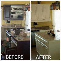 Cabinet Refinishing-Kitchens and more!