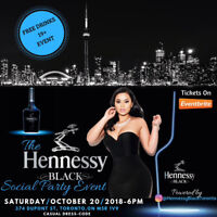 The Hennessy Black Social Event Party