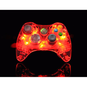 Brand New Xbox 360 LED afterglow controller - RED