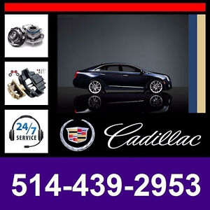 Cadillac XTS ► Bearings, Calipers • Roulements, Étriers