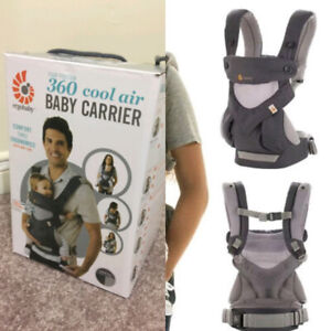 5dc21493d3b Ergobaby Four-Position 360 Cool Air Baby Carrier
