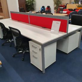 Office Bench Desks, in stock, huge Glasgow Showroom
