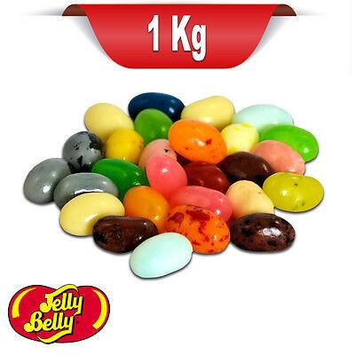 Jelly Belly Beans 50 SORTEN MISCHUNG - 1kg Mix aller Sorten in OVP Vorteilspack