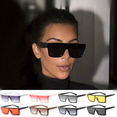 Kim Kardashian Oversized Square Sunglasses Women Unisex Vintage (Kim Kardashian Oversized Sunglasses)