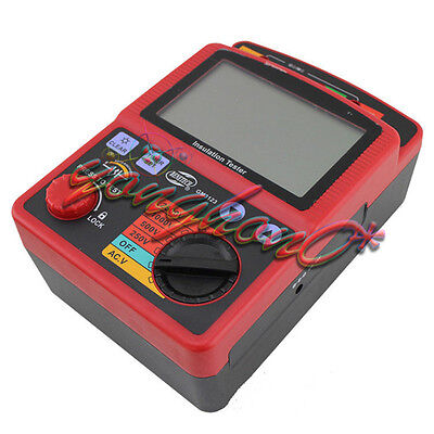 Gm3123 High Voltage 2.5kv 99.9g Ohm Insulation Resistance Tester Meter Megger