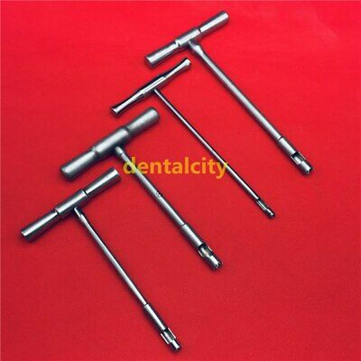 Hollow Mill For Removal Of Bone Screws Extractor Orthopedics Instrument 4pcs