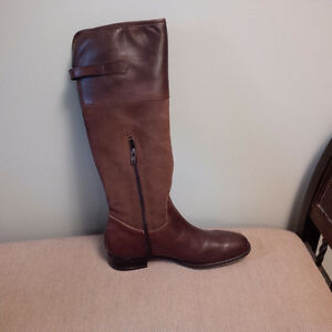 Leather Suede Boots-Never Worn-size 10 Cambridge Kitchener Area image 2