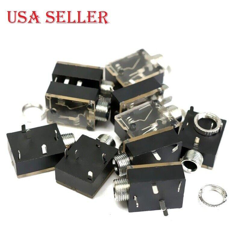 Earphone PCB Mount 3 Pin 3.5mm Stereo Jack Socket Female Connector 30 Pcs  for sale online   eBayeBay