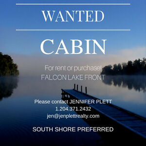CABIN WANTED