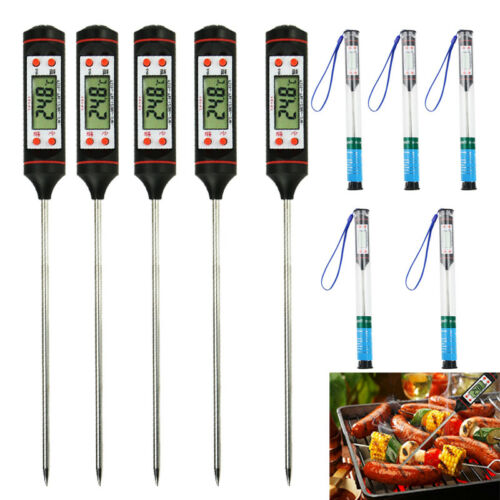 5X Electronic Meat Thermometer Kitchen Tools Digital Food Pr