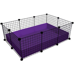 Storage grids for building small animal cages