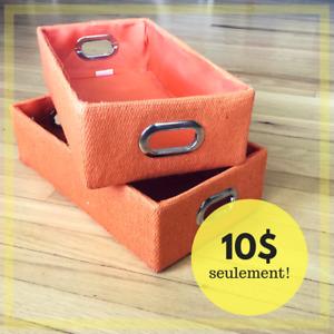 Boîtes décoratives - 10$ Négo