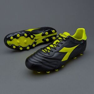 Diadora Brazil K-Plus MG14 Cleat FG Leather Soccer Shoes Mens 11