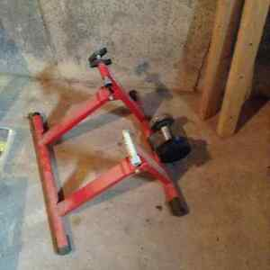 Bike trainer stand.  The price is negotiable